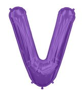 "34"" Northstar Brand Packaged Letter V - Purple"
