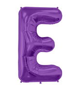"34"" Northstar Brand Packaged Letter E - Purple"