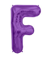 "34"" Northstar Brand Packaged Letter F - Purple"