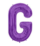 "34"" Northstar Brand Packaged Letter G - Purple"