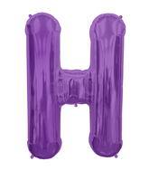 "34"" Northstar Brand Packaged Letter H - Purple"