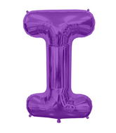 "34"" Northstar Brand Packaged Letter I - Purple"