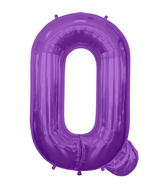 "34"" Northstar Brand Packaged Letter Q - Purple"