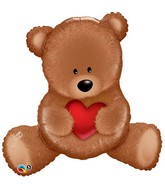 "35"" Teddy Bear Love Balloon"
