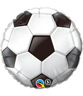 "36"" Soccer Ball Packaged Mylar Balloon"