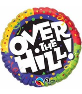 "18"" Over the Hill Confetti Balloon"