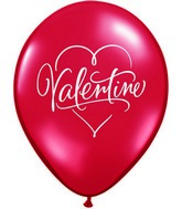 "11"" Romantic Valentine&#39s Day Single Sided Print(50 Count)"