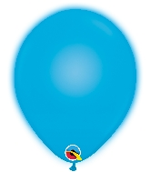 "11"" Q-Lite Blue 5 Count Qualatex Light Up Latex Balloons"