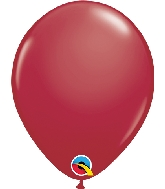 "5"" Qualatex Latex Balloons  Maroon 100CT"