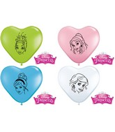 "6"" Disney Princesses Faces Balloon 100 per bag"