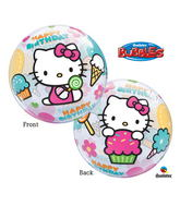 "22"" Hello Kitty Birthday Bubble Balloons"