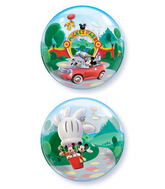 "22"" Mickey Park Licenced Character Bubble Balloons"
