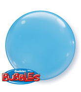 "15"" Pale Blue Self Sealing Plastic Balloon (4 ct.)"