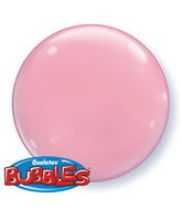 "15"" Pink Self Sealing Stretchy Plastic Balloon (4ct.)"