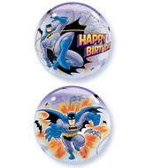 "22"" Batman Birthday Character Bubble Balloons"