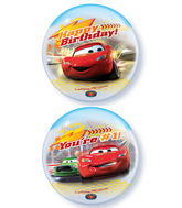 "22"" Cars Birthday Licenced Character Bubble Balloons"