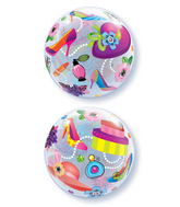 "22"" Shopping Spree Plastic Bubble Balloons"