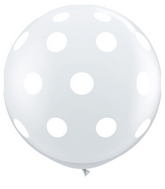 "36"" Big Polka Dots Diamond Clear (2 ct.)"