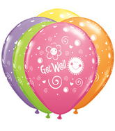 "11"" Get Well Sun & Flowers Assorted (50 ct.)"