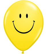 "16"" Smile Face Yellow w/Black Ink (50 ct.)"
