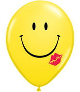 "16"" A Smile & A Kiss Yellow (50 ct.)"