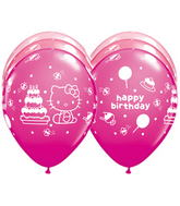 "11"" Hello Kitty® Birthday Assorted (25 ct.)"