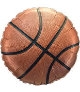 "18"" Pro Basketball Mylar Balloon"