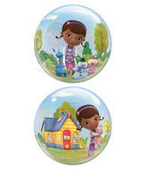 "22"" Doc Mcstuffins Bubble Balloon"