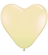 "15"" Ivory Silk Latex Balloons (50 Count)"
