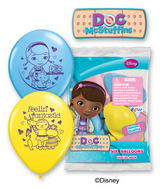 "12"" Doc McStuffins 6 pack Latex Balloons"