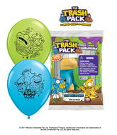 "12"" The Trash Pack 6 pack Latex Balloons"
