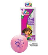 "14"" Dora The Explorer Balloons 1 ct. Punch Ball"