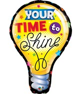 "40"" You&#39re Time to Shine Balloon"
