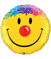 "32"" Smiley Face with Hair Balloons"