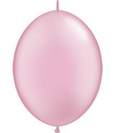 "12"" Qualatex Latex Quicklink Pearl Pink 50 Count"