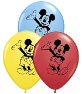 "5"" Mickey Mouse - Full Character Balloon 100 per bag"
