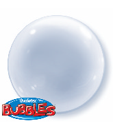 "20"" Clear Deco Bubble Balloons"