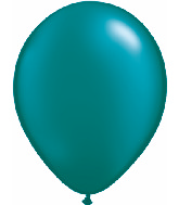 "5""  Qualatex Latex Balloons  Pearl TEAL       100CT"
