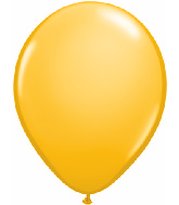 "11"" Qualatex Latex Balloons 25 Per Bag Goldenrod"