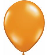 "11"" Qualatex Latex Balloons 25 Per Bag Jewel Mand Orange"