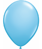 "11"" Qualatex Latex Balloons 25 Per Bag Pale Blue"
