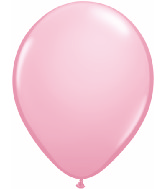 "11"" Qualatex Latex Balloons 25 Per Bag Pink"
