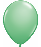 "11"" Qualatex Latex Balloons 25 Per Bag Wintergreen"