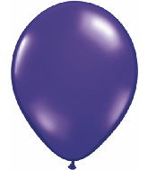 "16""  Qualatex Latex Balloons  QUARTZ PURPLE   50CT"
