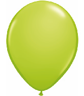 "11"" Qualatex Latex Balloons 25 Per Bag Lime Green"