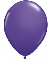 "5""  Qualatex Latex Balloons  PURPLE VIOLET  100CT"