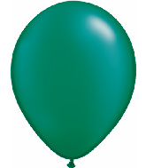 "16""  Qualatex Latex Balloons  Pearl EMERALD     50CT"