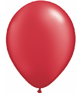 "16""  Qualatex Latex Balloons  Pearl RUBY RED    50CT"