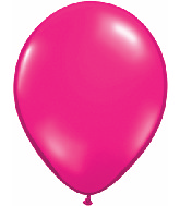 "16""  Qualatex Latex Balloons  JEWEL MAGENTA   50CT"