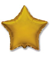 "32"" Jumbo Metallic Gold Star"